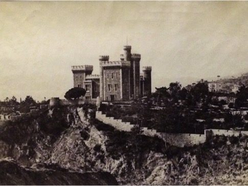 Charles Nègre (French, 1820–1880) Chateau of Vallombrosa, Cannes, 1852 Albumen print and waxed paper negative Courtesy of Charles Isaacs Photographs