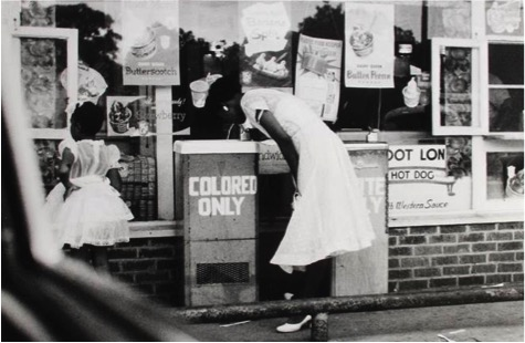 Gordon Parks (American, 1912–2006) Drinking Fountains, 1956 Printed ca. 1980s Gelatin silver print Courtesy of Howard Greenberg Gallery