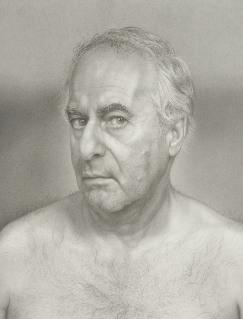 James Valerio, Self-Portrait, 1998, graphite on paper, 20 5/8 x 18 1/2 in., Collection of Jackye and Curtis Finch, Jr.