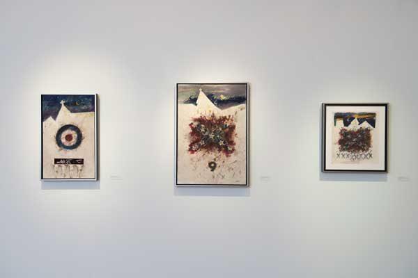 Installation of Leo Twiggs: Requiem for Mother Emanuel