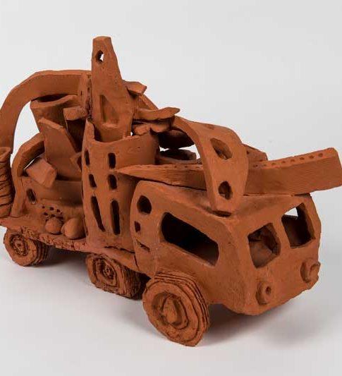 ceramic truck