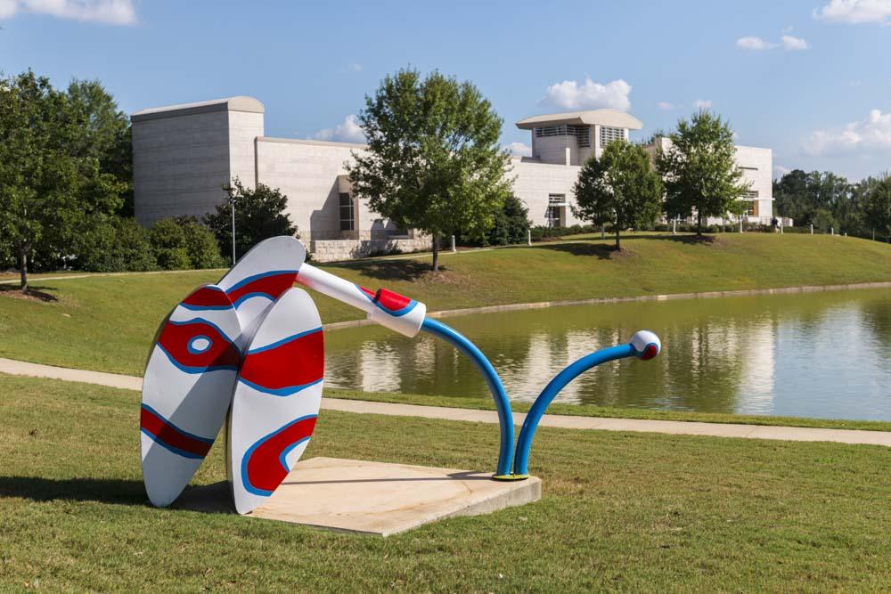 Adam Walls (North Carolina, b. 1974) Ker-Plunk, 2008 Painted steel