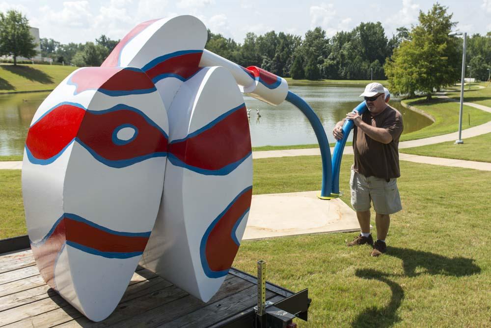 Adam Walls of North Carolina installs Ker-Plunk