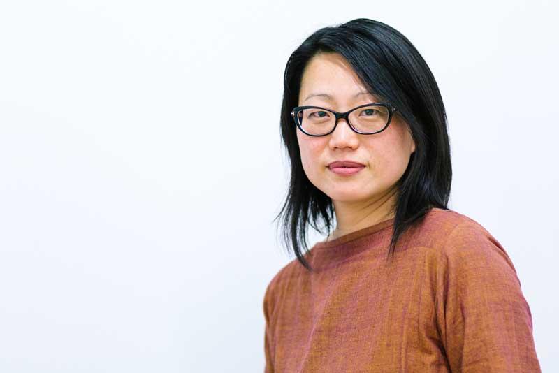 Headshot of artist Jean Shin