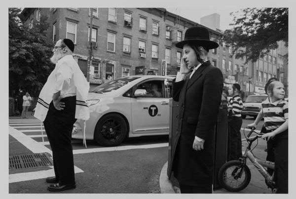 William Castellana (American, b. 1968) Boys on Bicycle/Lee Avenue, Williamsburg, Brooklyn, 2016 Archival pigment print Jule Collins Smith Museum of Fine Art, Auburn University; gift of William Castellana 2016.04.03