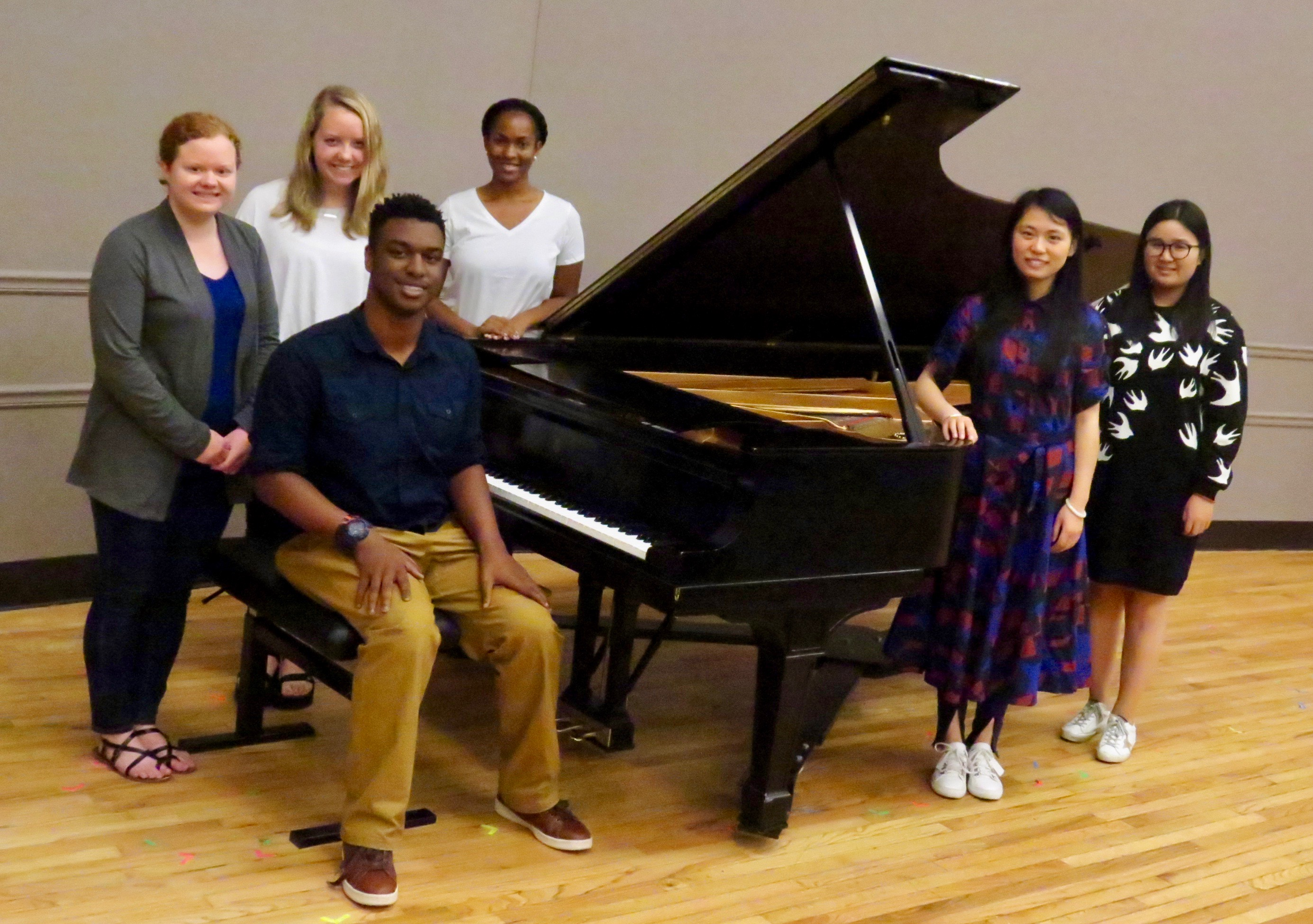 Auburn University Piano Studio, Spring 2018