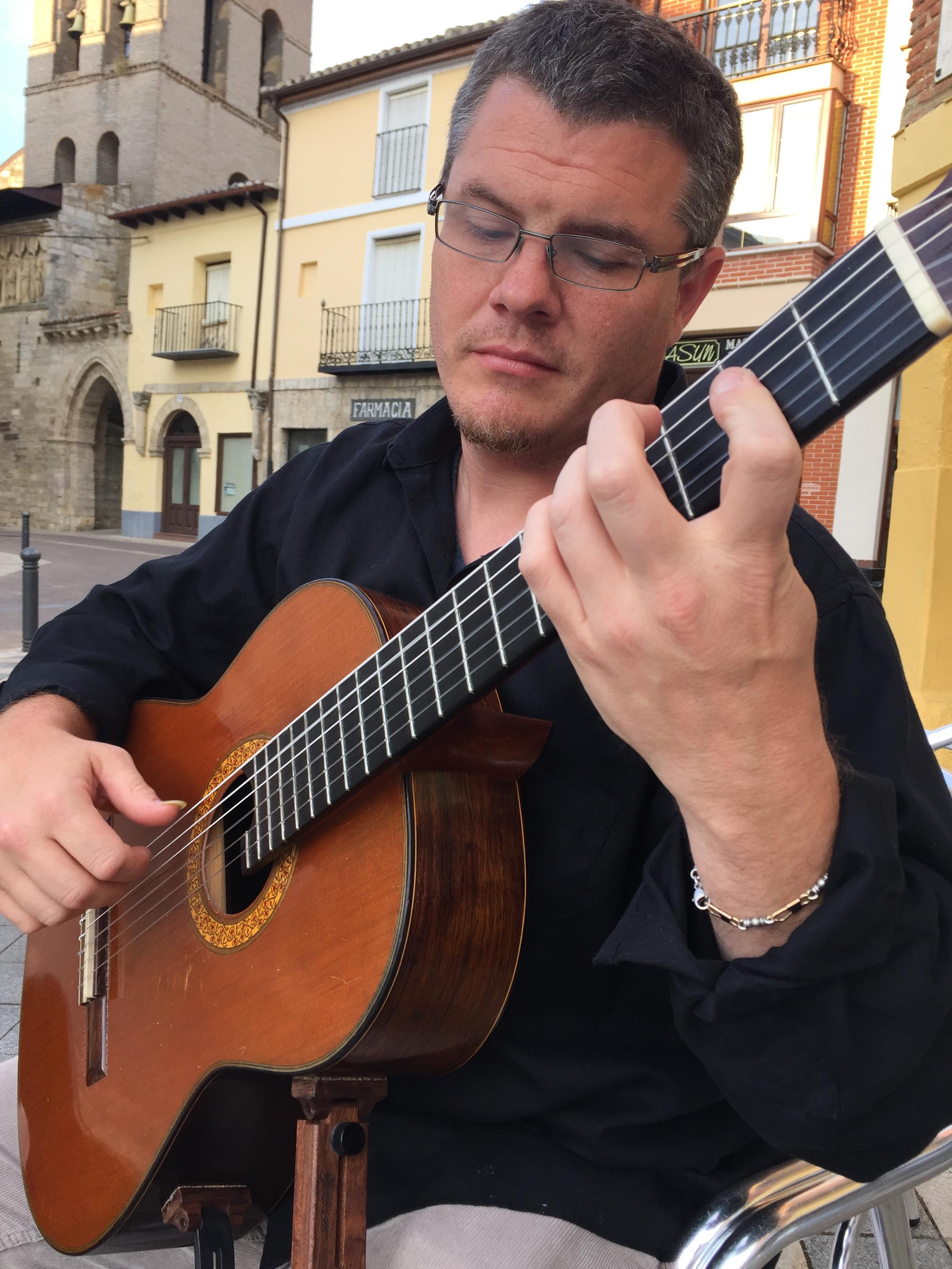 guest performer Robert Gibson