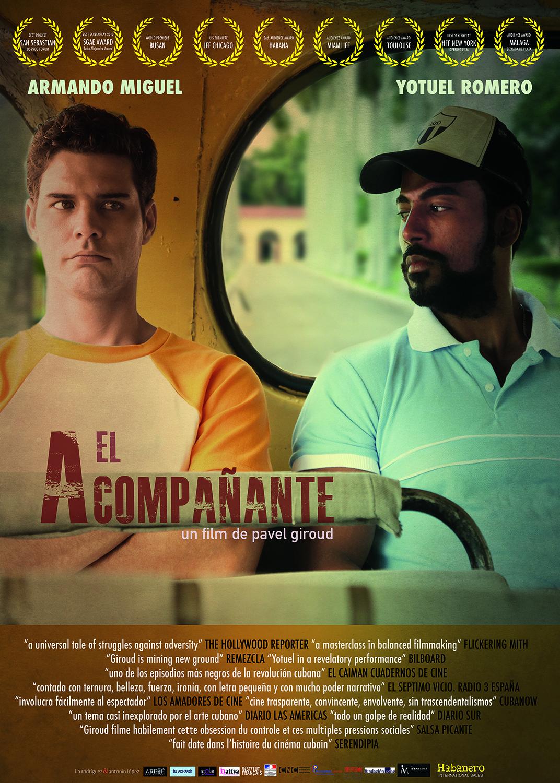 Movie poster for the film, El acompañante