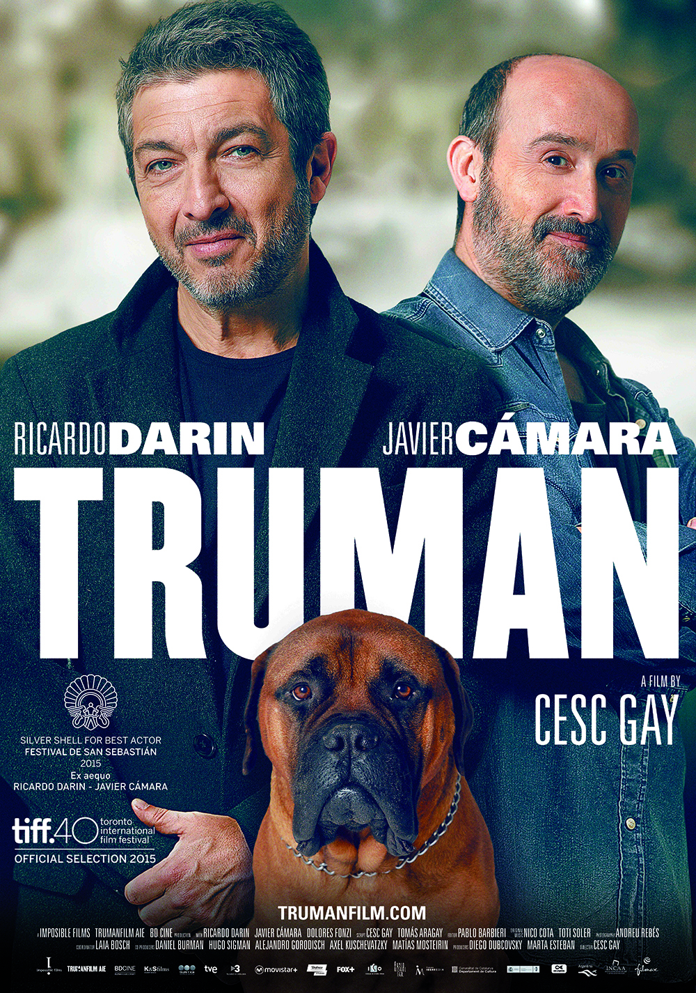 Movie poster for the film, Truman.