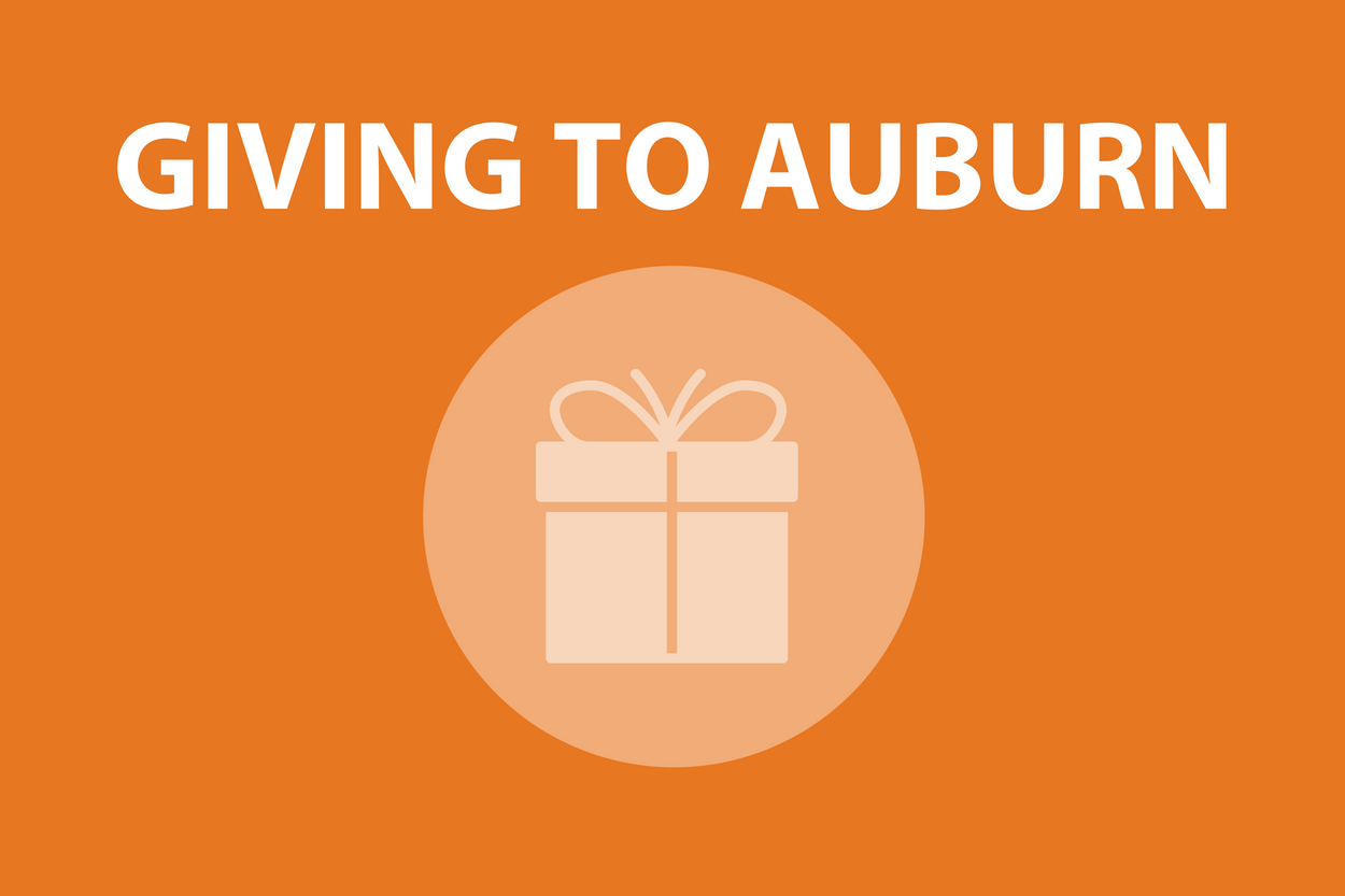 Campaign Logo for GIVING TO AUBURN