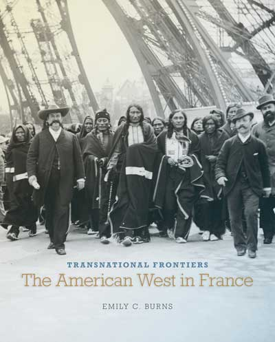 Book cover for Transnational Frontiers: The American West in France