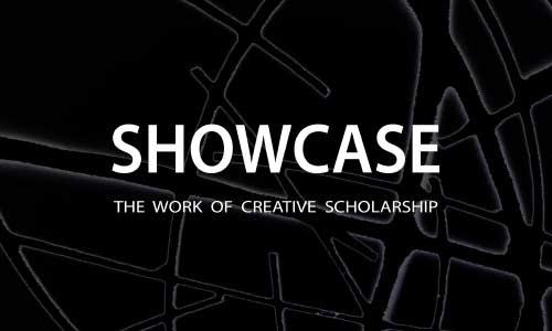 Text logo for Showcase