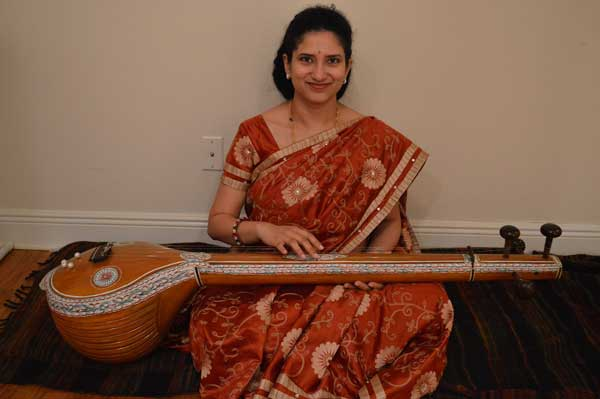 Chaitra Gururaja is the instructor and leader of the Auburn Indian Music Ensemble.