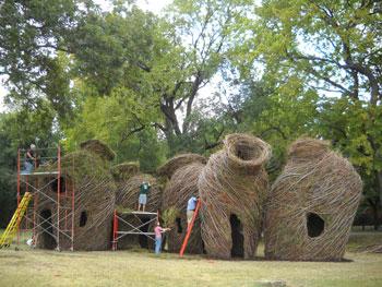 River Vessels, (2010) Waco Cultural Arts Festival, Waco, TX. Photo: Philip Ravencroft