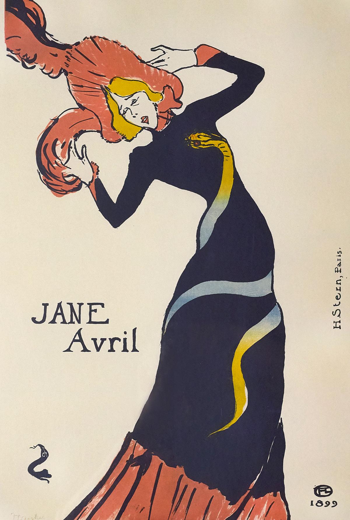 An actress performs wearing a snake dress.