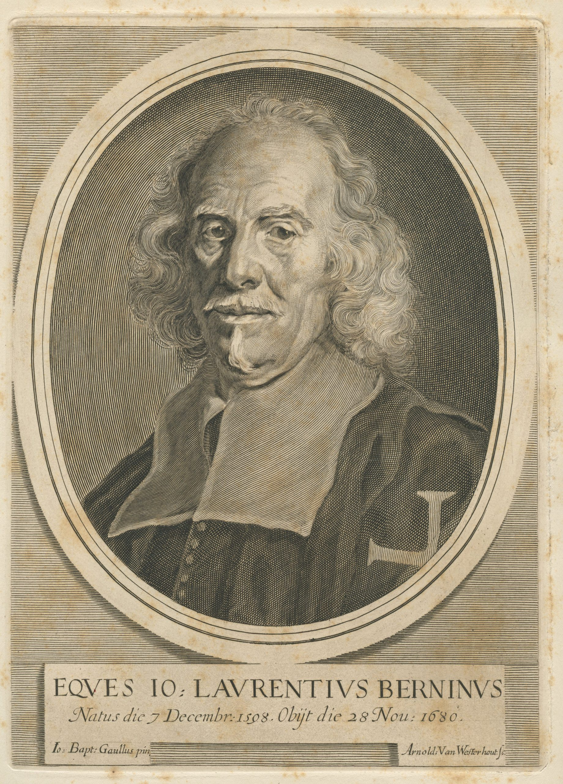 A old man, with a receding hairline and long hair.