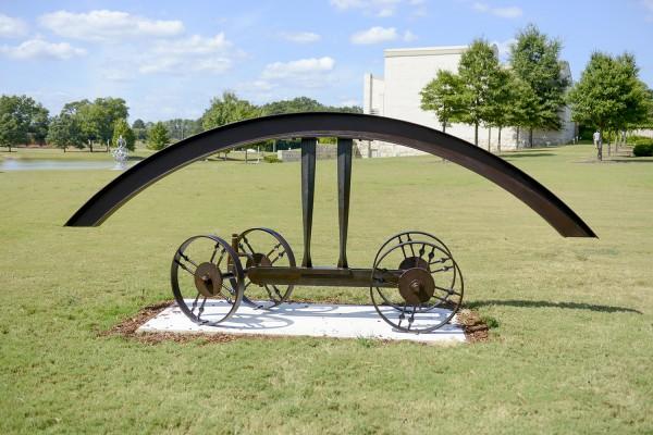 Second Place: Bill Brown (North Carolina, b. 1955), The Mediator, 2012, steel