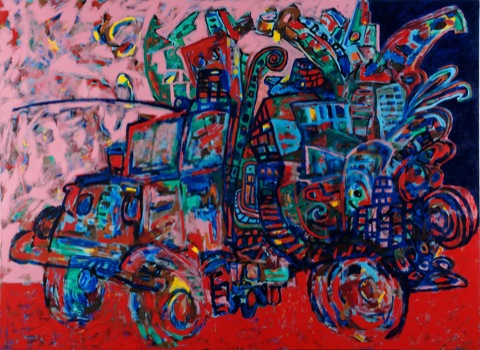 John Himmelfarb, Hero, 2010, Acrylic on canvas
