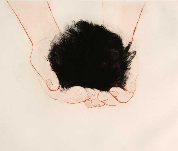 Nicole Andreoni, The Relic, 2011, Intaglio
