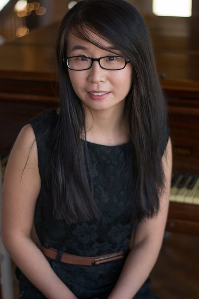 Pianist Beibei Lin, visiting performer. Photo courtesy of Joseph Gibson, Overhere Photography.