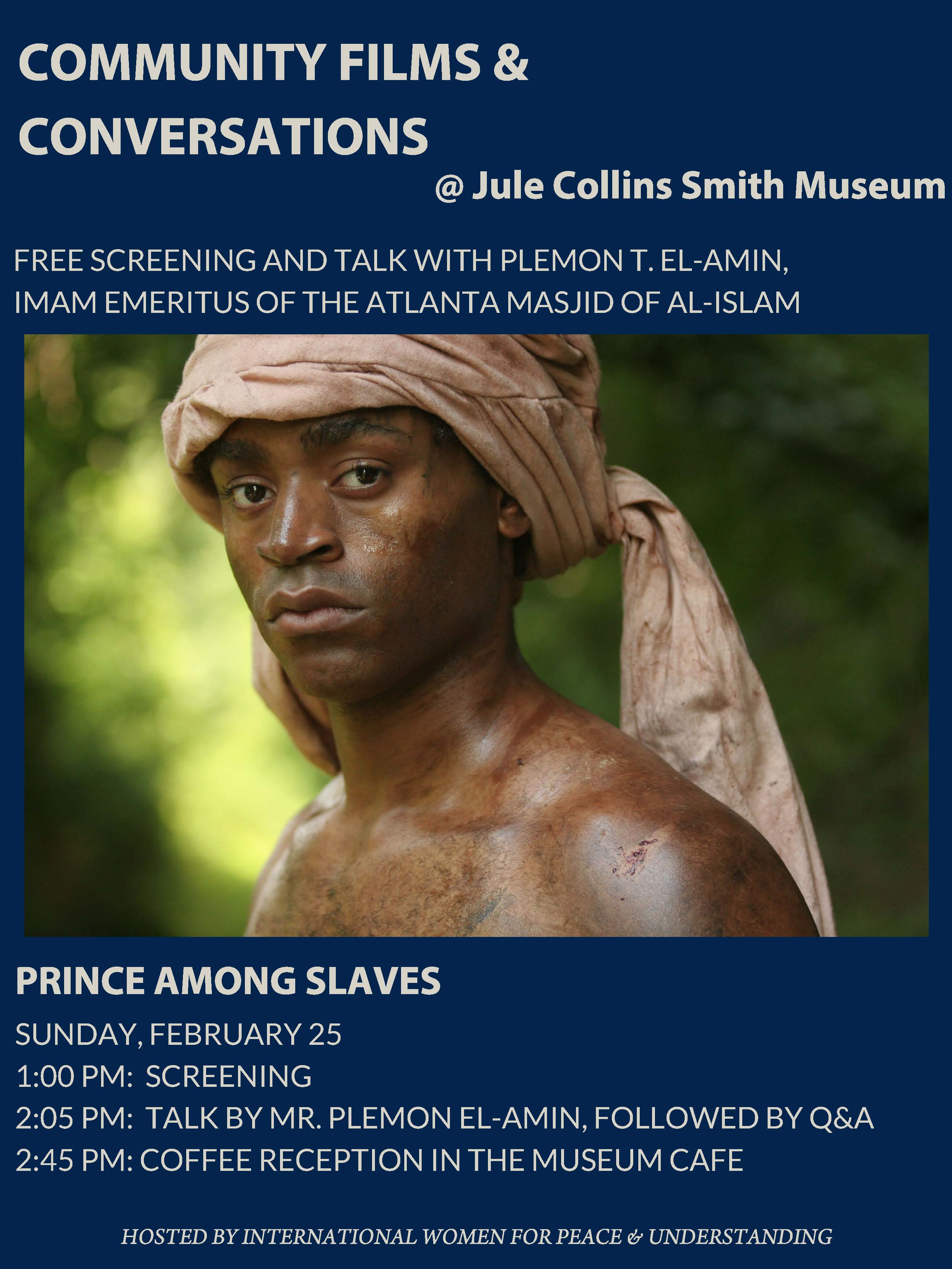 Promotional graphic for Prince Among Slaves.