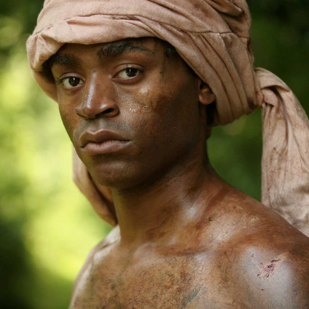 Prince now a slave Abdul Rahman played by Marcus Mitchell.