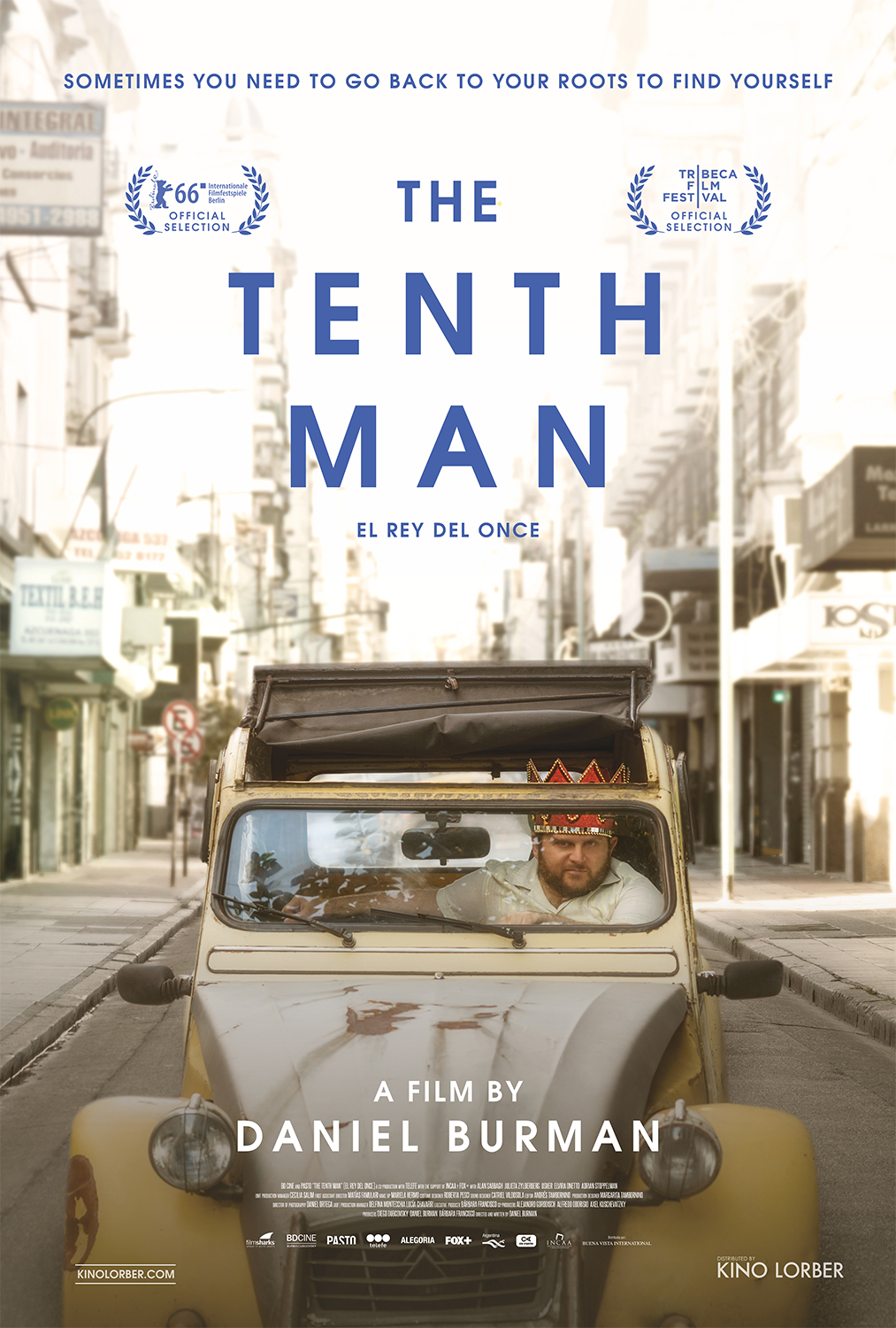 Movie poster for the film, The Tenth Man.