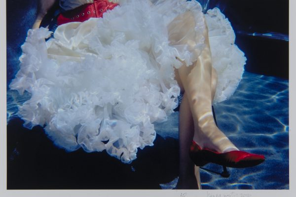 Kenda North (American, b. 1951) Red Shoes, 2009 From the series Urban Pools Edition: artist's proof Printed 2016 Ultrachrome pigment print 14 x 20 inches