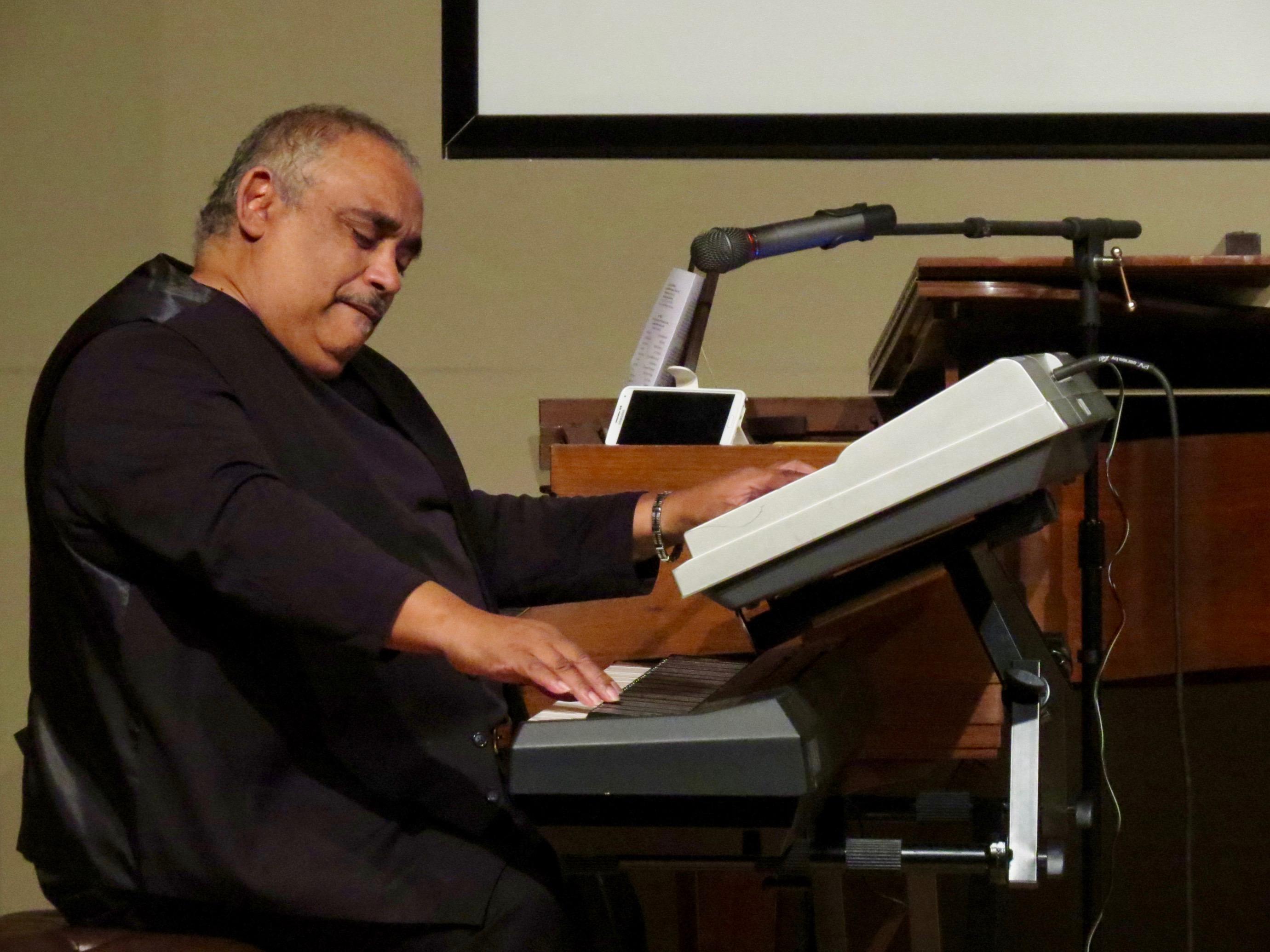 guest performer Dr. David Banks