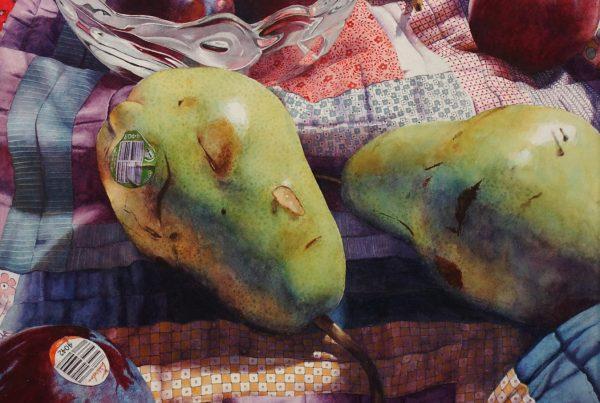 Chris Krupinski (Hurricane, WV) Pears and Plums
