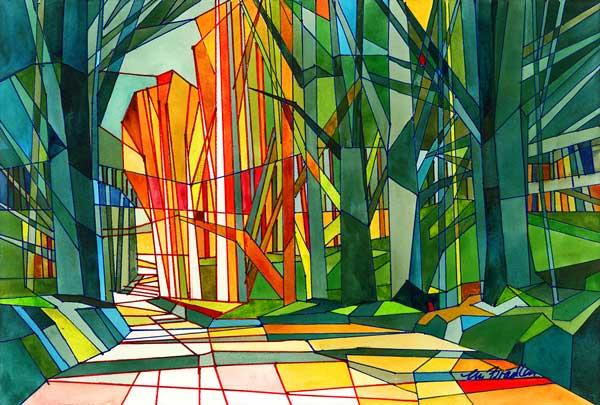 Marilynne Bradley (Webster Grove, MO) Gothic Forest