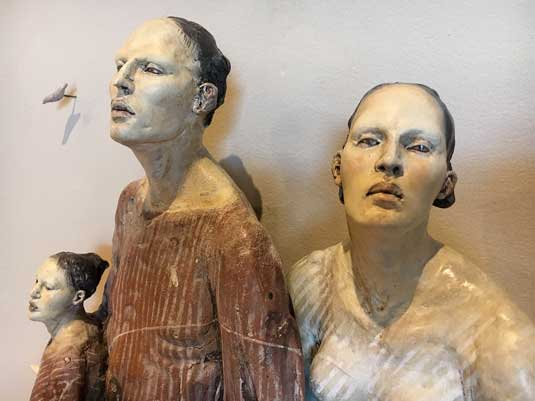 Freedom from Fear Christina Cordova (American, b. 1976) Mi Familia, 2010 ceramic and metal wire Jule Collins Smith Museum of Fine Art at Auburn University Museum purchase with funds from the 1072 Society