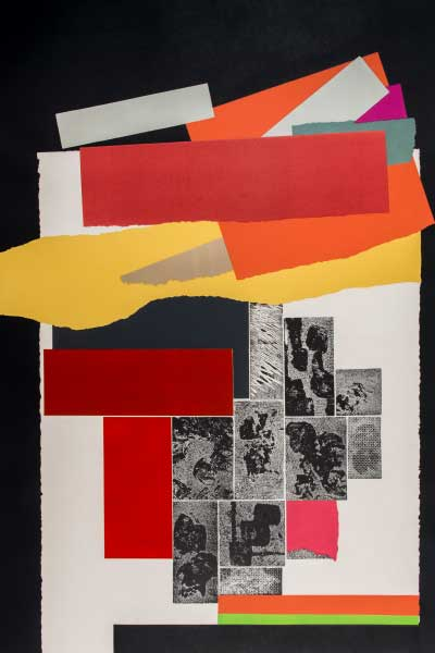 Louise Nevelson, Celebration #5, 1979 Color etching with aquatint on paper 43 3/4 x 31 1/2 inches Gift of Hugh L. Latta