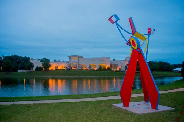 Triad, Hanna Jubran, Jule Collins Smith Museum of Fine Art at Auburn University, Auburn, Alabama (2015)