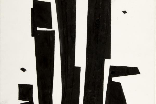 Dorothy Dehner, Dark Harmony, 1983