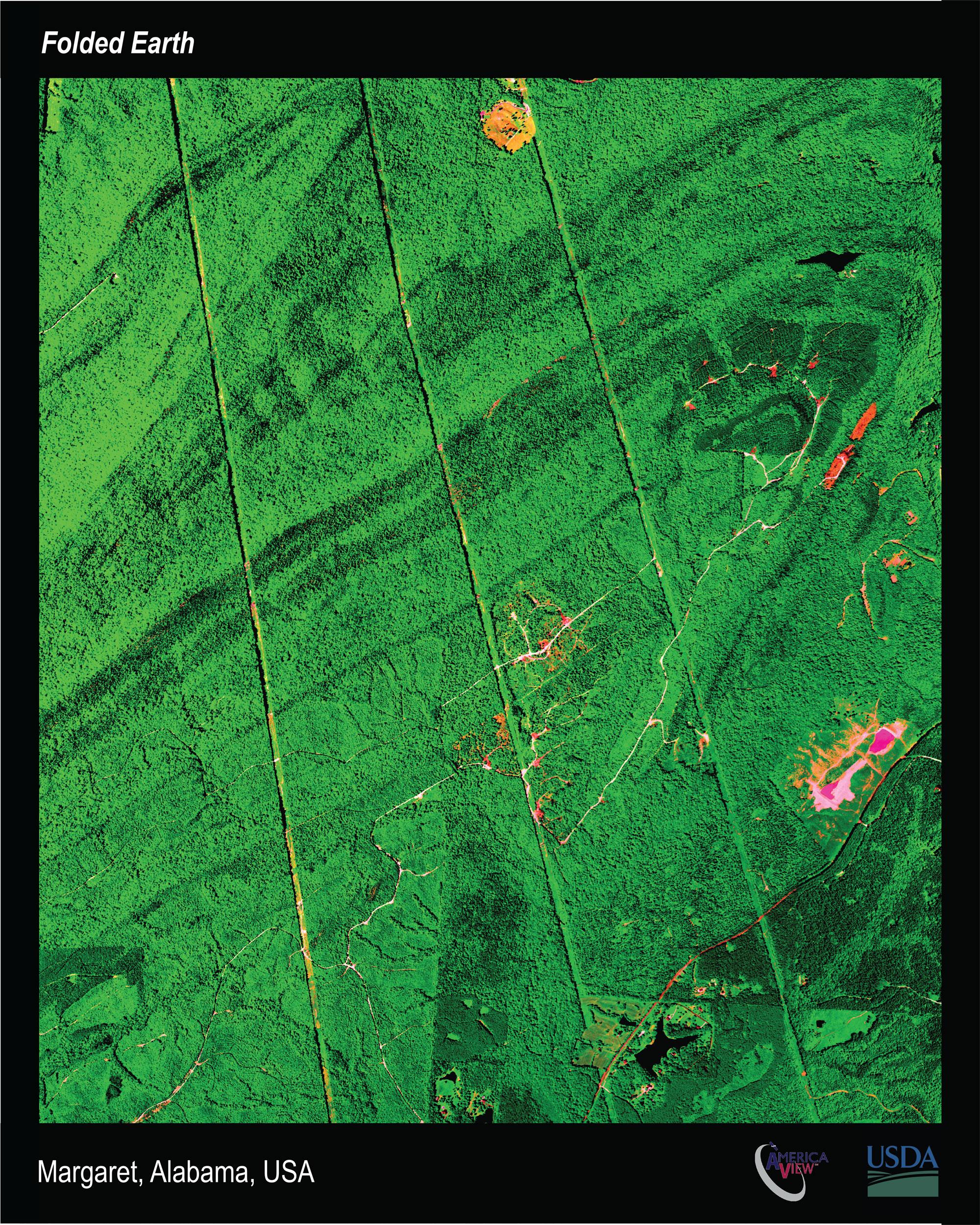 Satellite images of Margaret, Alabama